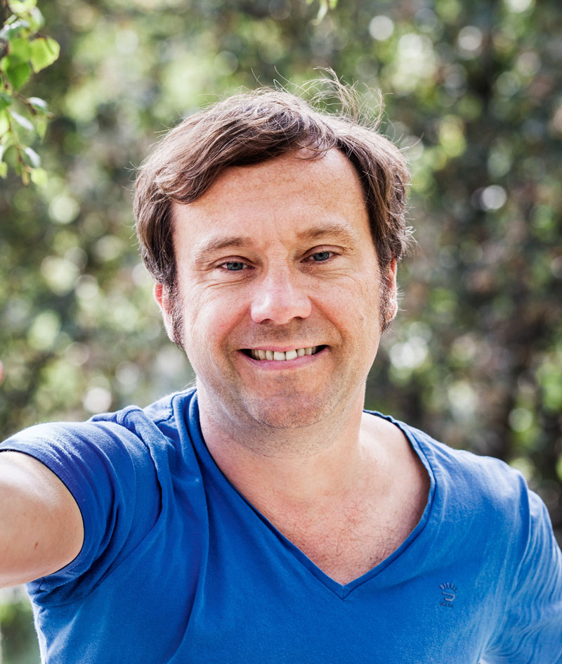 Portrait Gregor Sander